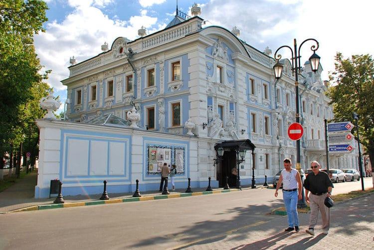 Усадьба Рукавишниковых - достопримечательности Нижнего Новгорода