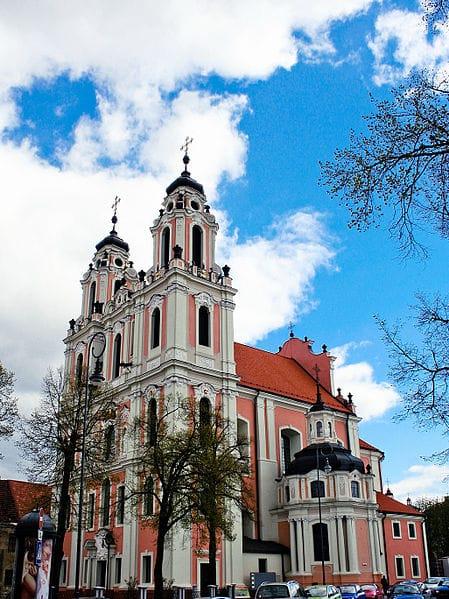 Костёл Святой Екатерины - достопримечательности Вильнюса