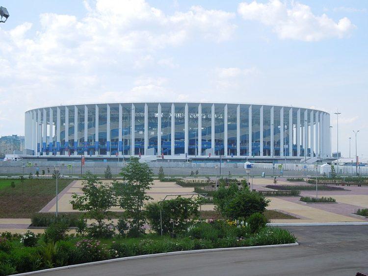 Стадион Нижний Новгород - достопримечательности Нижнего Новгорода