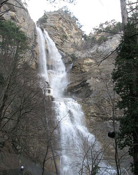 Водопад Учан-Су - достопримечательности Ялты