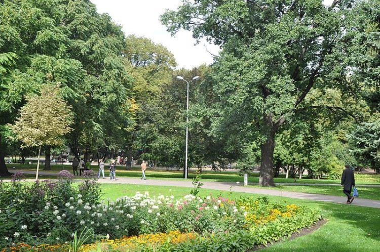 Верманский парк - достопримечательности Риги