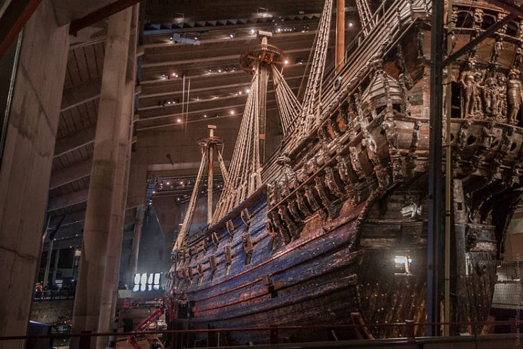 Корабль-музей Васа - достопримечательности Стокгольма