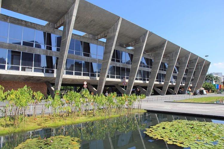 Музей современного искусства - достопримечательности Рио-де-Жанейро