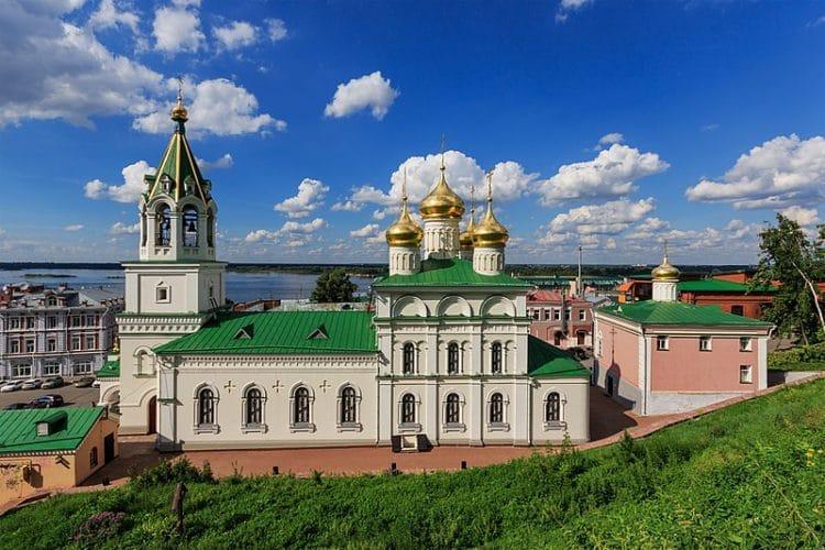 Церковь Рождества Иоанна Предтечи на Торгу - достопримечательности Нижнего Новгорода
