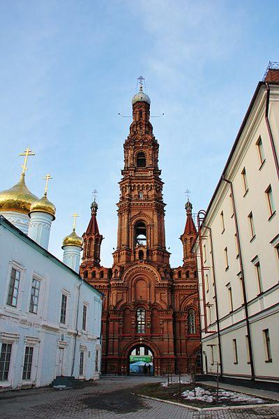 Колокольня Богоявленского собора - достопримечательности Казани