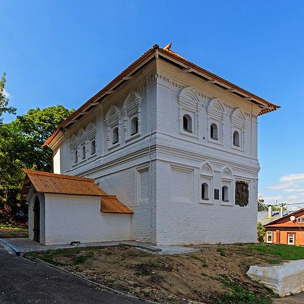 Домик Петра I - достопримечательности Нижнего Новгорода