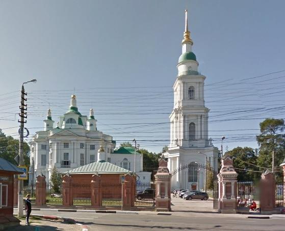 Всехсвятский кафедральный собор - достопримечательности Тулы