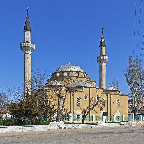 Мечеть Джума-Джами - достопримечательности Евпатории