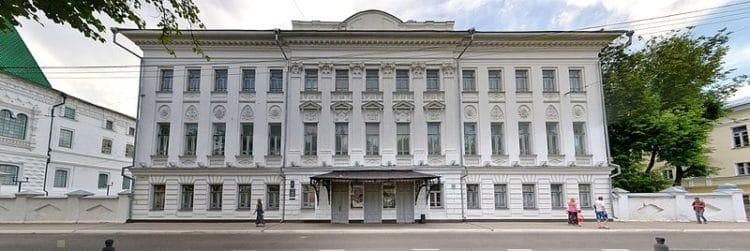 Дворянское собрание - достопримечательности Костромы