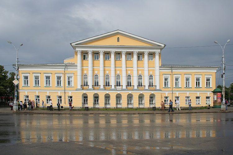 Дом Борщова - достопримечательности Костромы