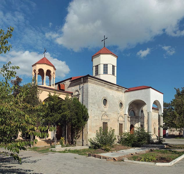 Армянская церковь Сурб Никогайос - достопримечательности Евпатории