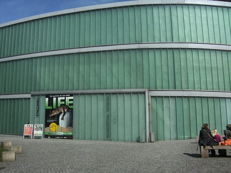 Неандертальский музей - достопримечательности Дюссельдорфа