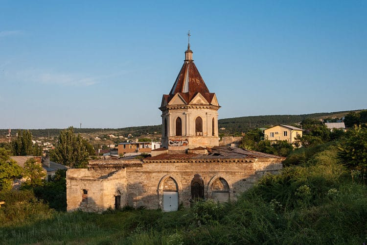 Церковь Святого Георгия - достопримечательности Феодосии