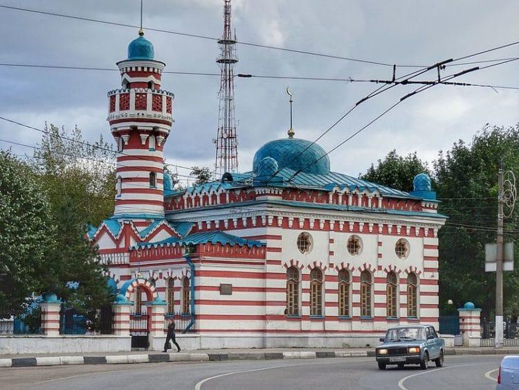 Тверская мечеть - достопримечательности Твери