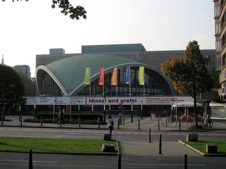 Оперный театр - достопримечательности Дортмунда