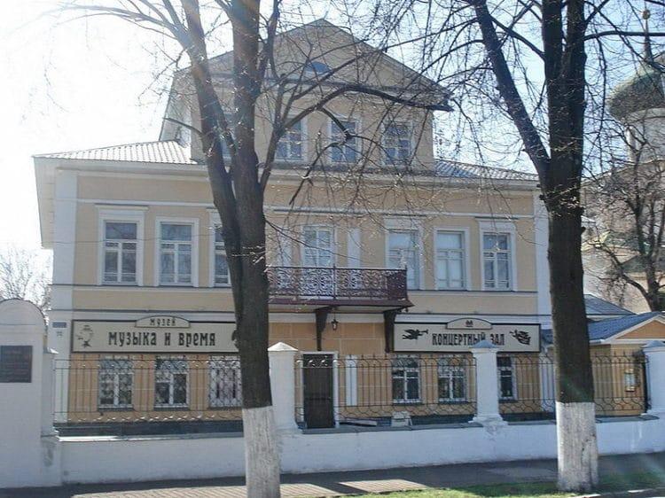 Музей «Музыка и время» - достопримечательности Ярославля