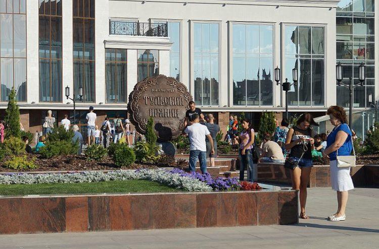 Памятник тульскому прянику - достопримечательности Тулы
