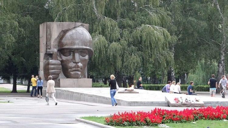 Мемориальный парк - достопримечательности Коломны