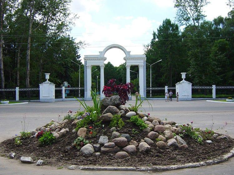 Парк Мира - достопримечательности Коломны