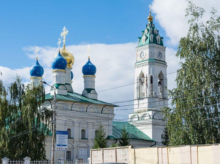 Благовещенская церковь - достопримечательности Тулы