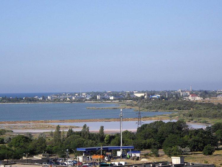 Мойнакское озеро - Достопримечательности Евпатории