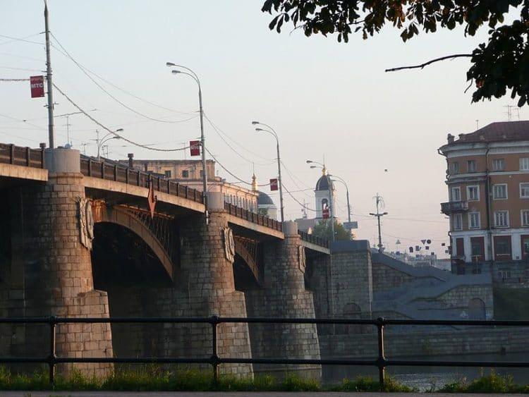 Нововолжский мост - достопримечательности Твери