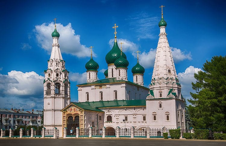 Церковь Ильи Пророка - достопримечательности Ярославля