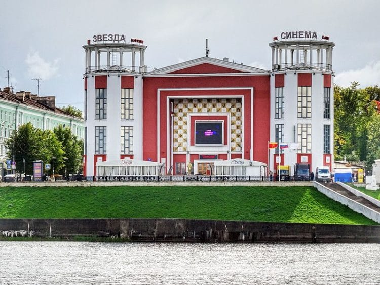Кинотеатр Звезда - достопримечательности Твери