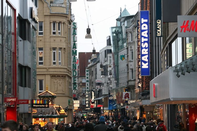 Улица Вестенхельвег - достопримечательности Дортмунда