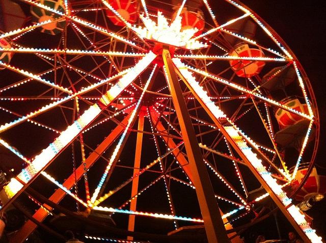 Парк развлечений Aktur Lunapark в Манавгате - достопримечательности Сиде