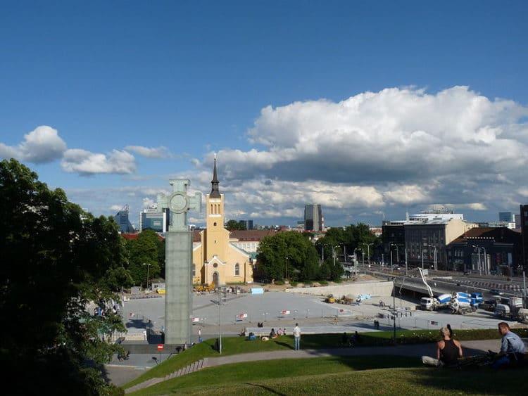 Площадь Свободы - достопримечательности Таллина