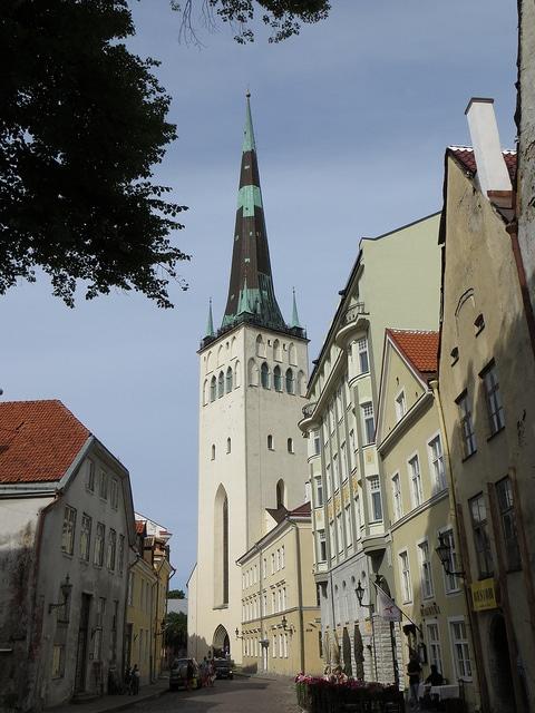 Церковь Святого Олафа - достопримечательности Таллина