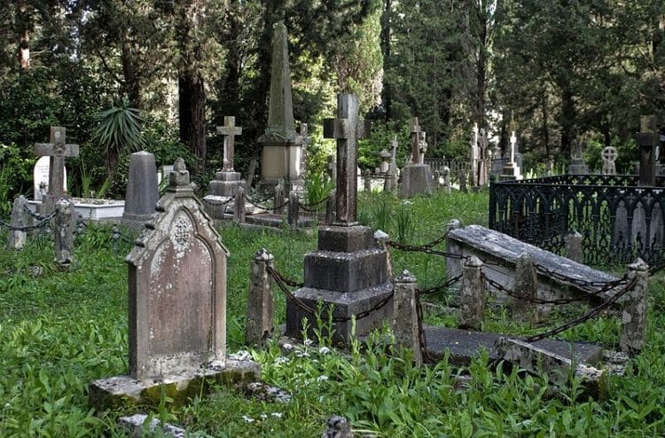 Британское кладбище - достопримечательности Корфу
