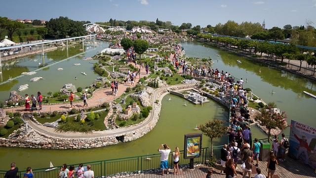 Парк «Италия в миниатюре» - достопримечательности Римини