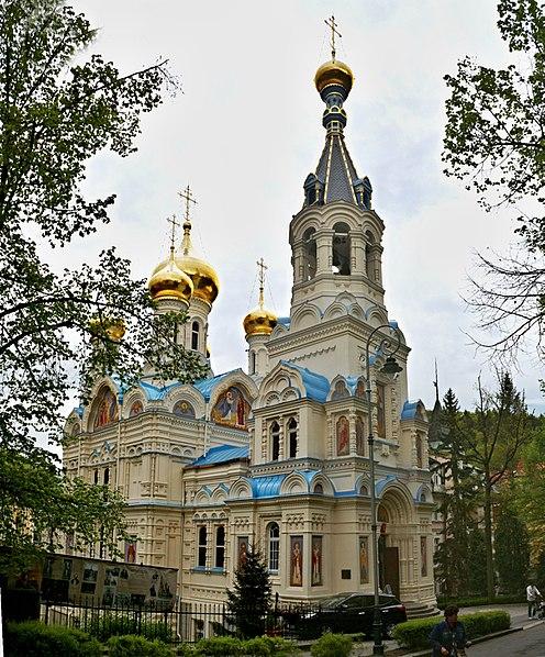 Церковь Св. Петра и Павла - достопримечательности Карловых Вар
