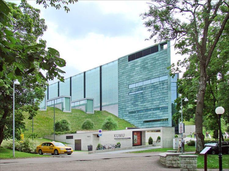 Художественный музей Куму - достопримечательности Таллина