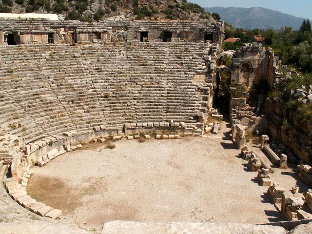 Древний город Мира - достопримечательности Кемера