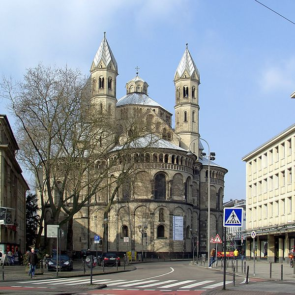 Апостольская церковь - достопримечательности Кёльна