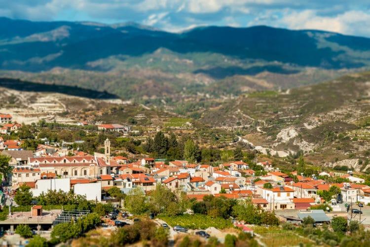 Деревня Омодос - достопримечательности Лимассола