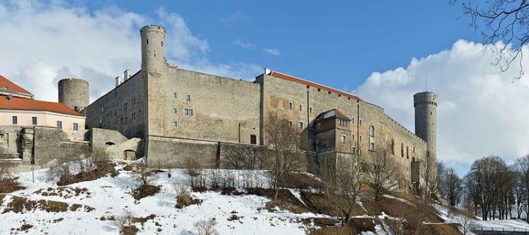 Замок Тоомпеа - достопримечательности Таллина