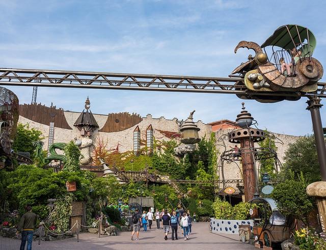 Парк развлечений «Фантазия-лэнд» - достопримечательности Кёльна