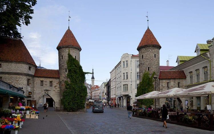 Вируские ворота - жостопримечательности Таллина