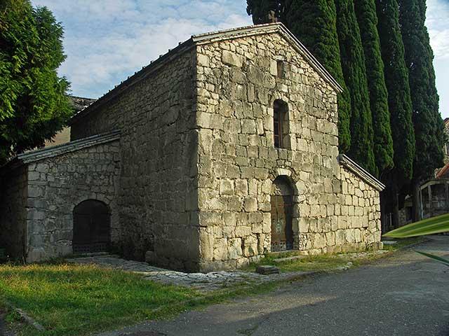 Церковь Абаата - достопримечательности Гагры