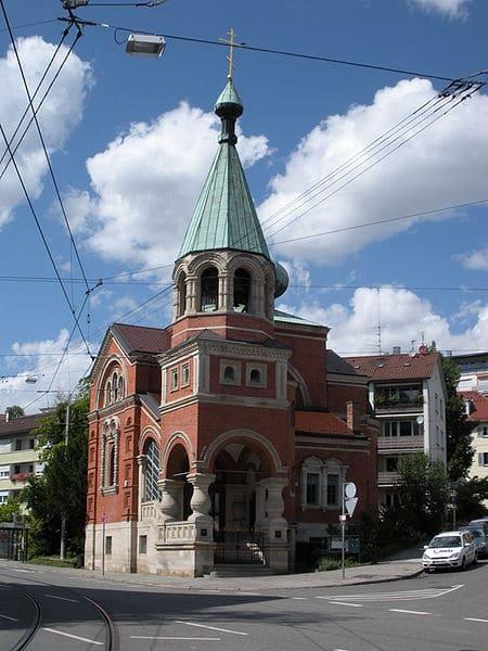 Храм Святителя Николая - достопримечательности Штутгарта