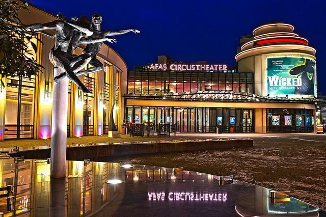 Театр Циркус - достопримечательности Гааги
