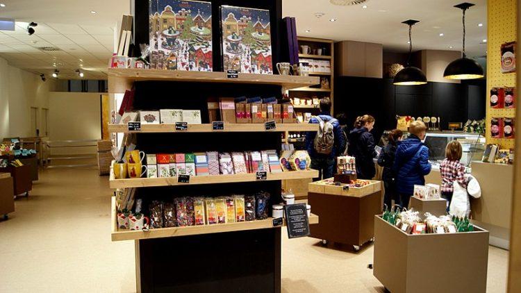 CHOCOVERSUM - музей шоколада - достопримечательности Гамбурга