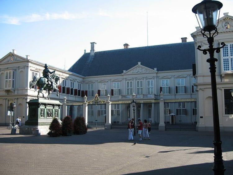Дворец Нордейнде - достопримечательности Гааги