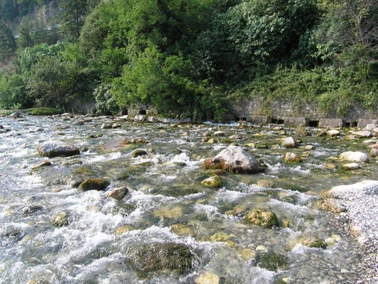 Река Репруа - достопримечательности Гагры