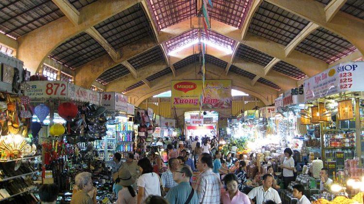 Рынок Бен Тхань - достопримечательности Хошимина