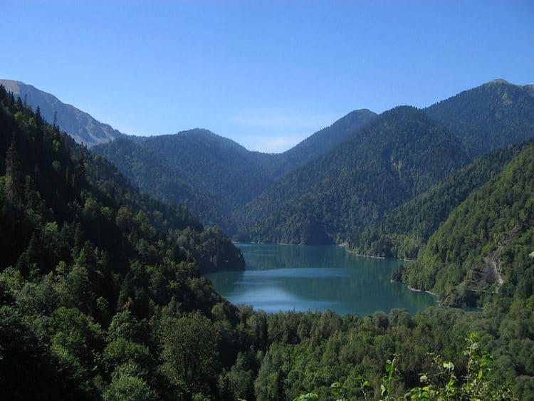 Озеро Рица - достопримечательности Гагры